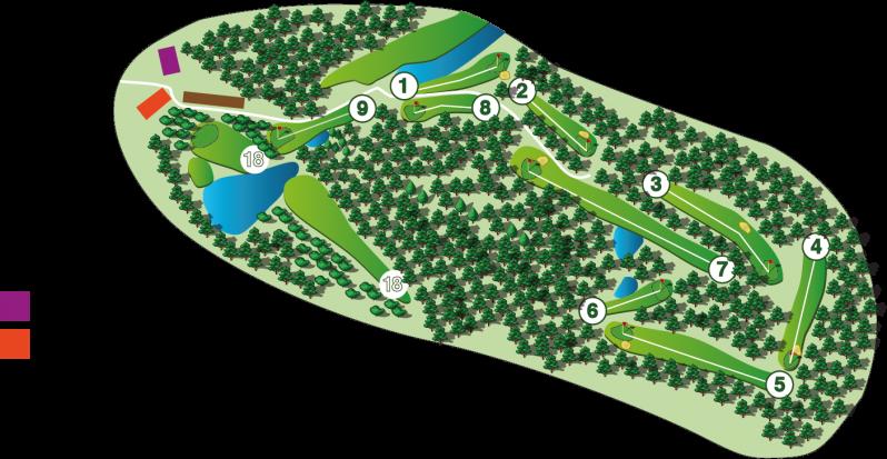 Aurinko Golf YSI+ kenttä